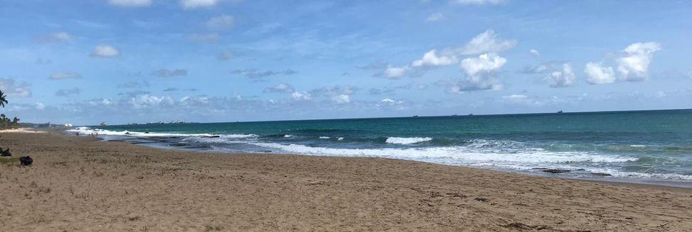 Plage Praia Barra de Jangada, Jaboatão dos Guararapes, Pernambouc, BR