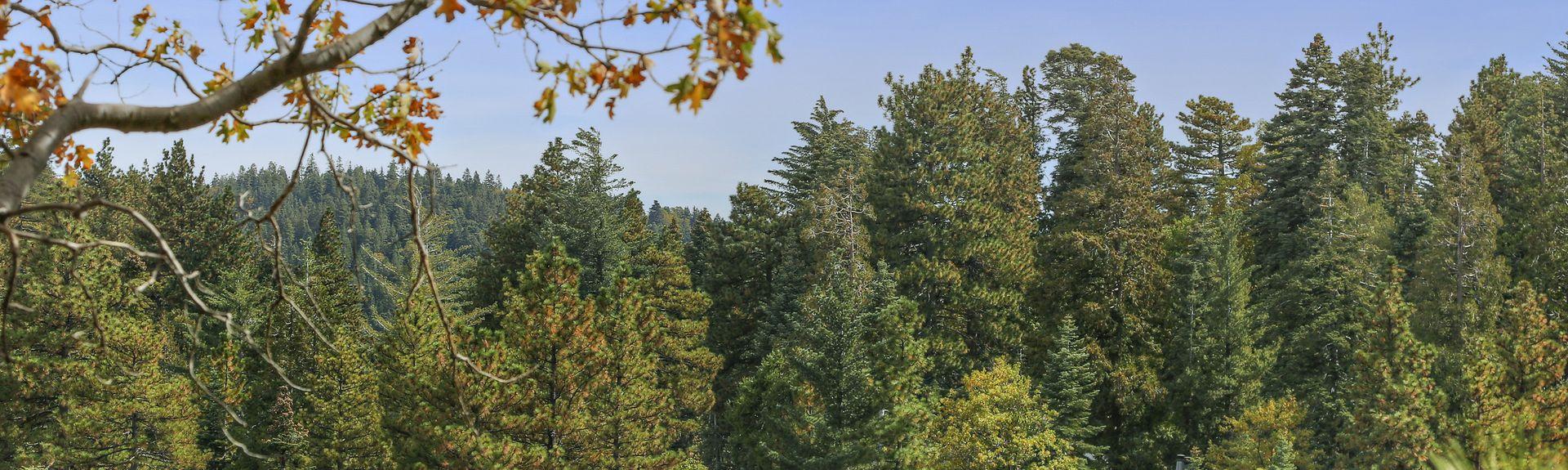 Strawberry Peak Fire Lookout, Twin Peaks, CA, USA