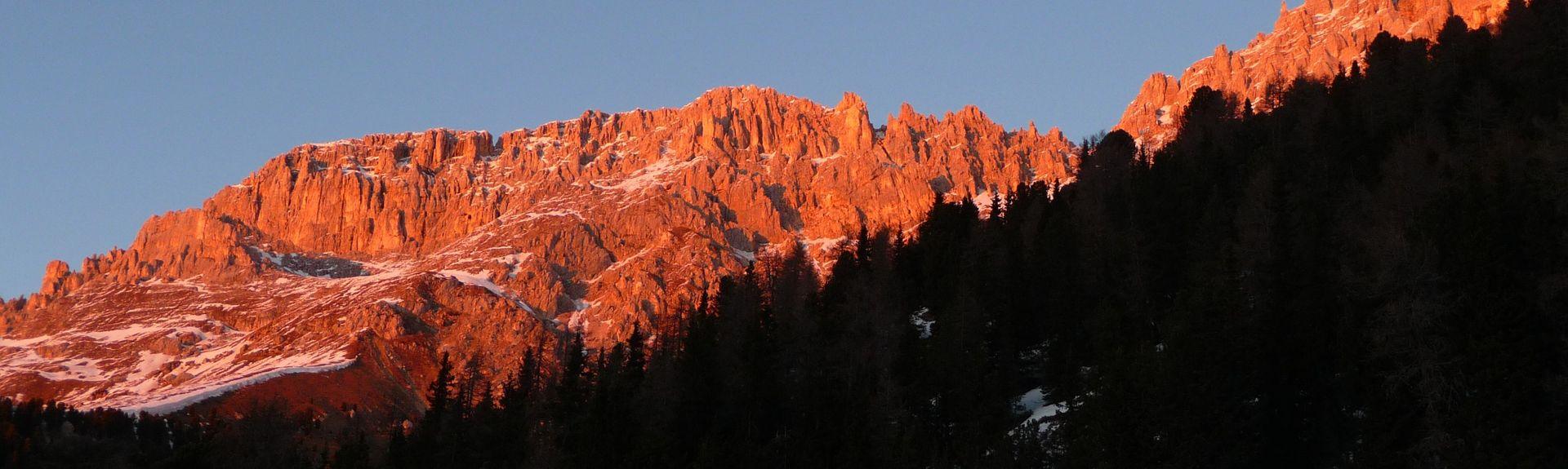 Ciampinoi Ski Lift, Selva di Val Gardena, Italy