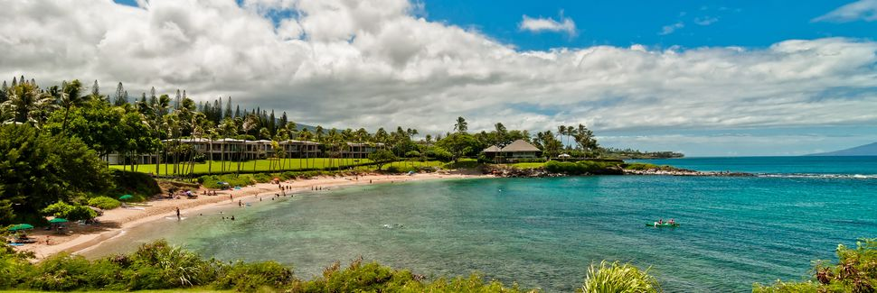 Kaanapali Beach, Lahaina, Hawaii, USA