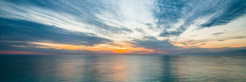 Gulf Lagoon Beach, Panama City, Florida, Verenigde Staten