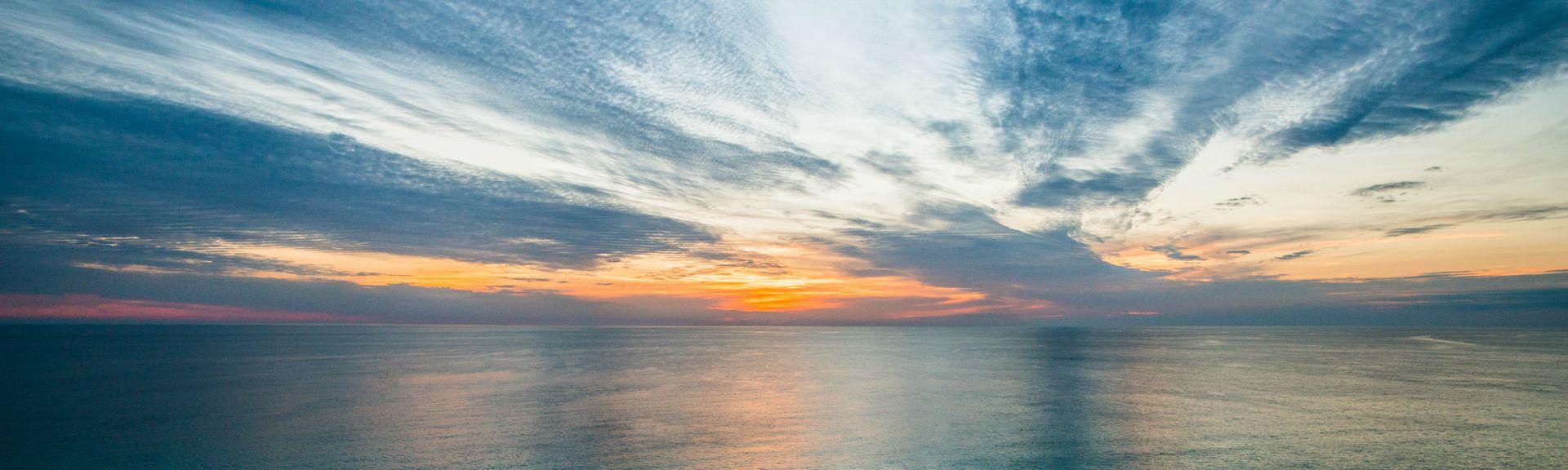 Gulf Lagoon Beach, Città di Panama, Florida, Stati Uniti d'America