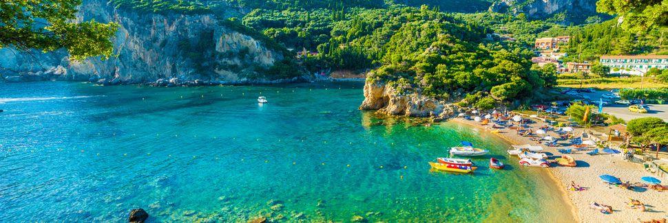 Korfu, Peloponnesos, Kreikka