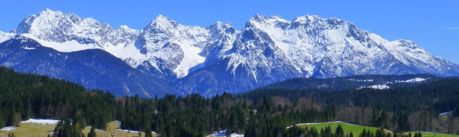 Unterammergau, Bayern, Deutschland