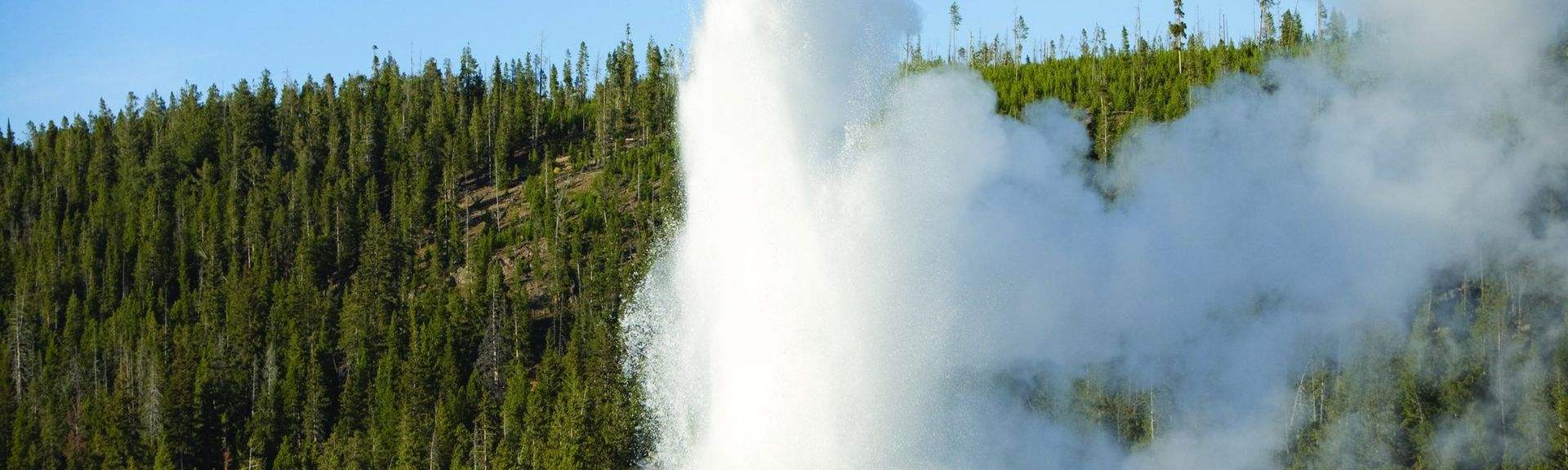 Giant Geyser, Yellowstone National Park, WY, USA