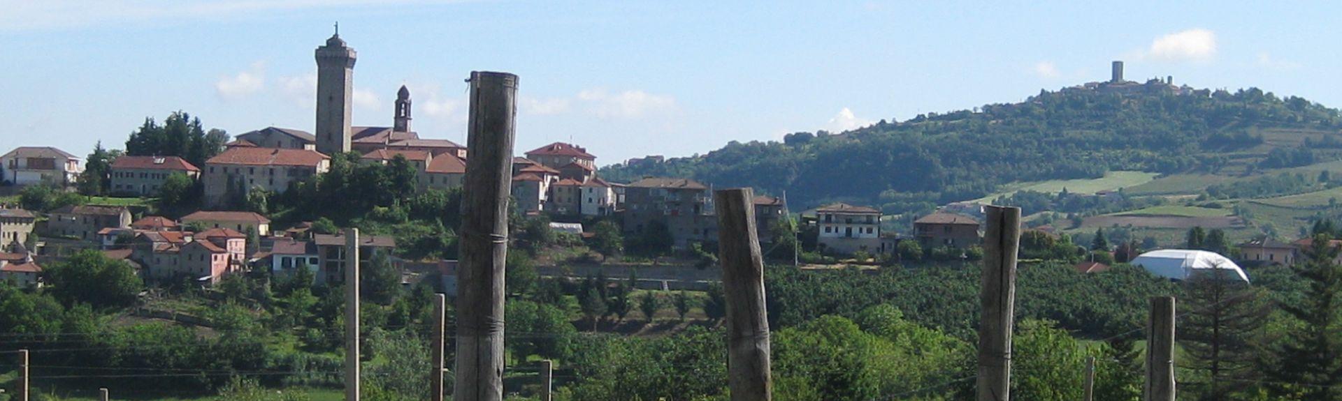 Borgonovo, Piemonte, Italien