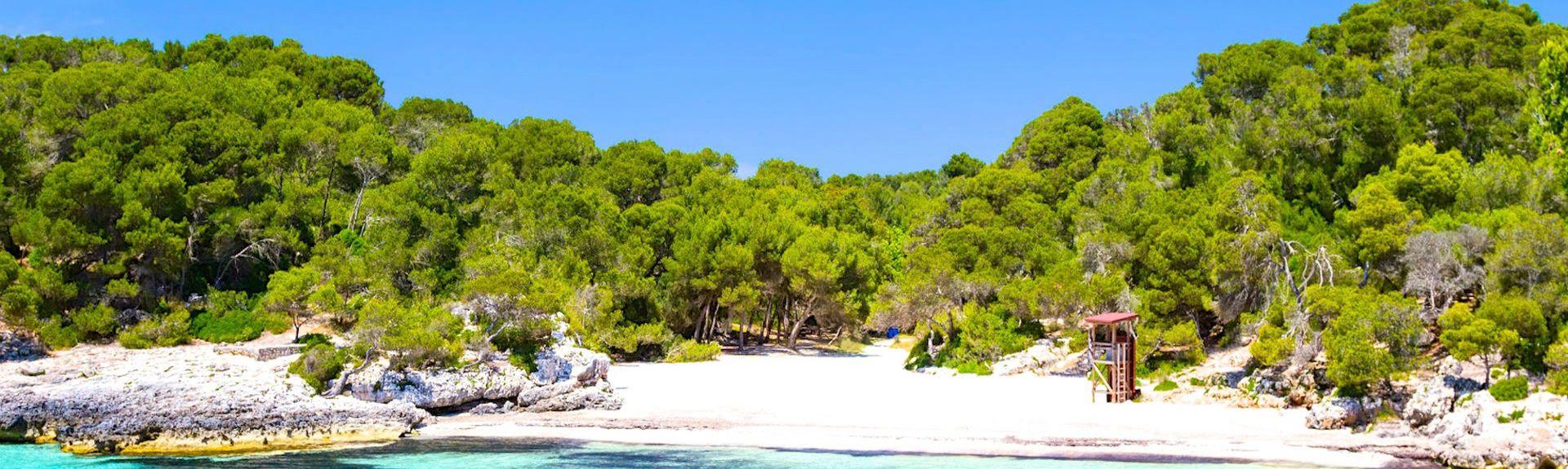 Cala Santandria, Ciudadela de Menorca, Islas Baleares, España