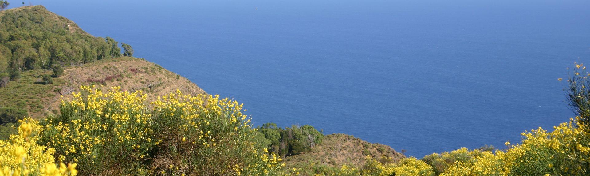 Vulcano Porto, Messina, Sicily, Italy