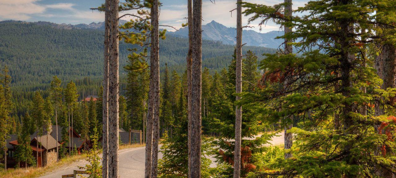 Saddle Ridge, Big Sky, Montana, États-Unis d'Amérique