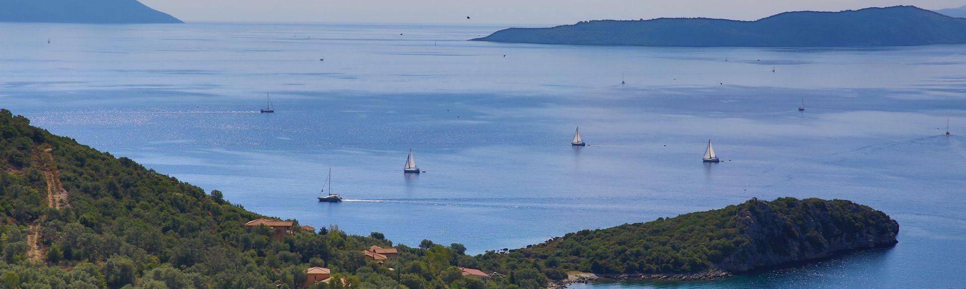 Poros, Lefkada, Ionian Islands Region, Greece