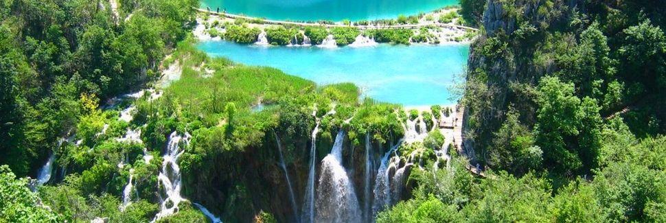 Plitvička Jezera, Żupania licko-seńska, Chorwacja