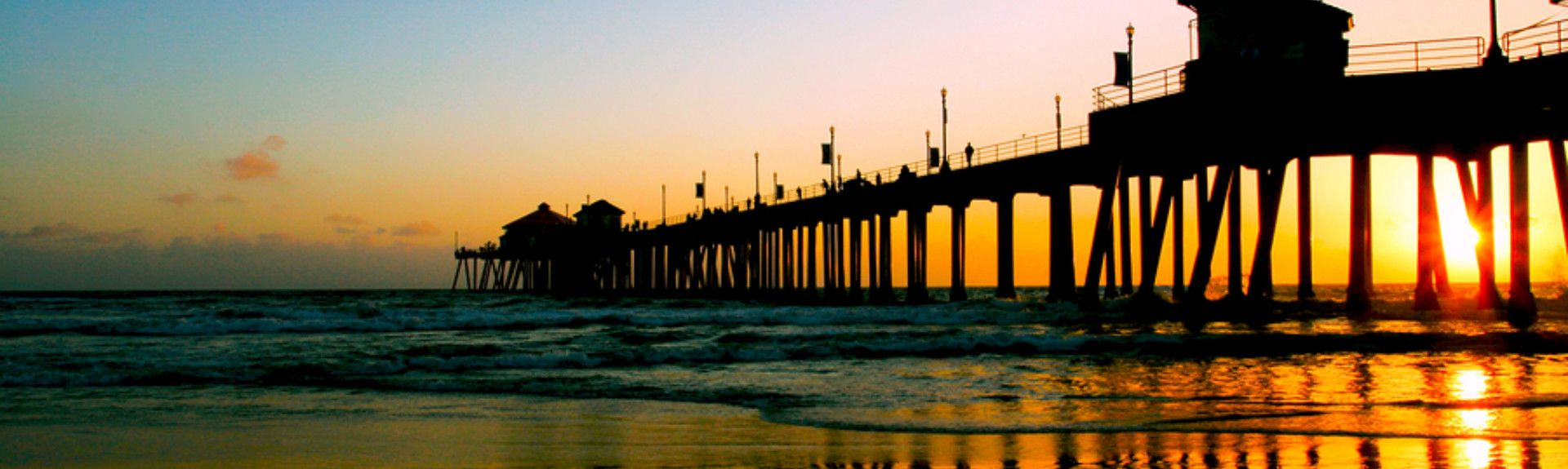Playa para perros Huntington, Huntington Beach, California, Estados Unidos