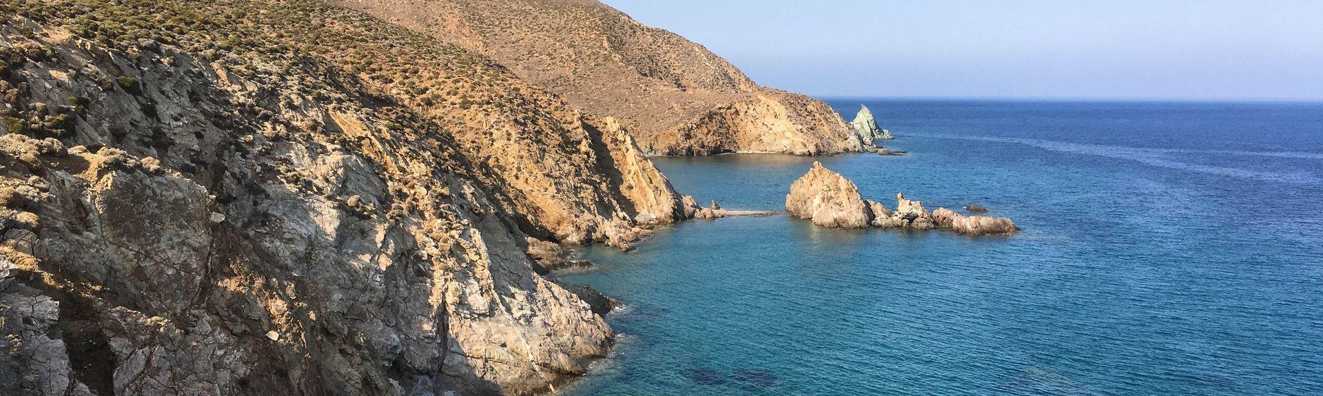 Mykonos New Port, Tourlos, Aegean, Greece