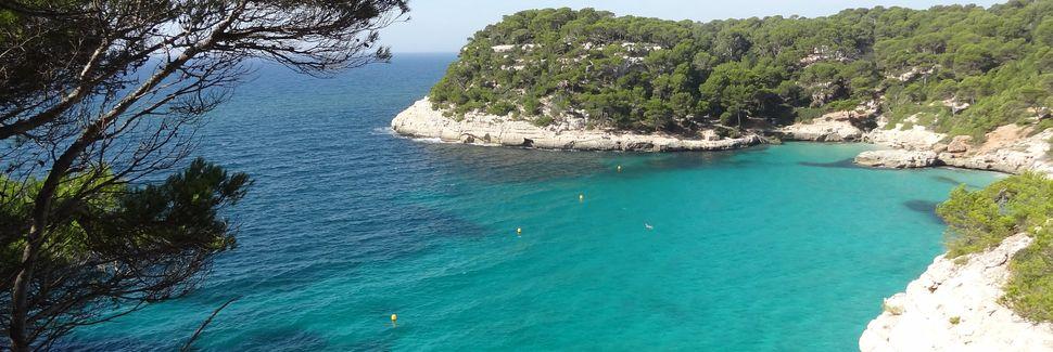 Cala Macarella, Ciudadela de Menorca, Islas Baleares, España