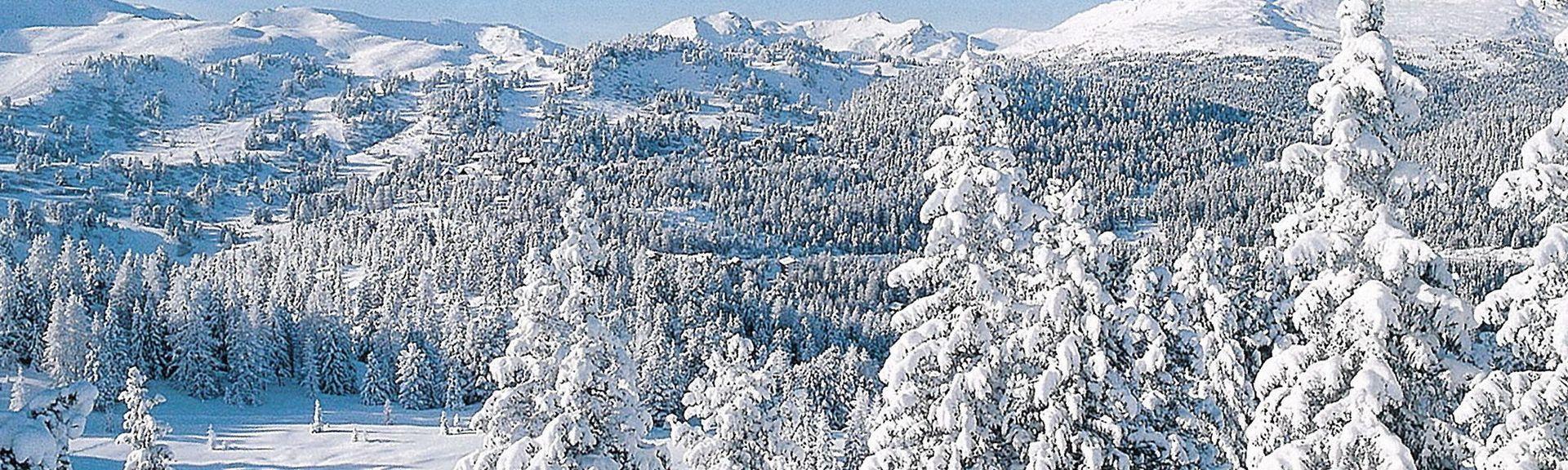 Kreischberg Ski Resort, Sankt Georgen am Kreischberg, Styria, Austria