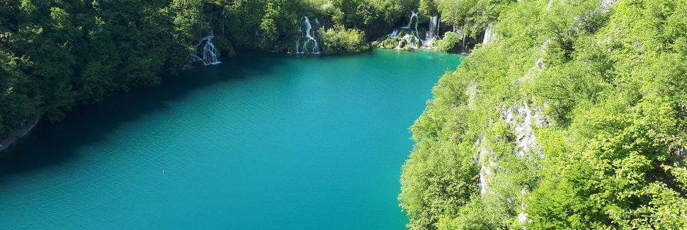 Plitvicen kansallispuisto – sisäänkäynti 1, Plitvička jezera, Lika-Senj, Kroatia
