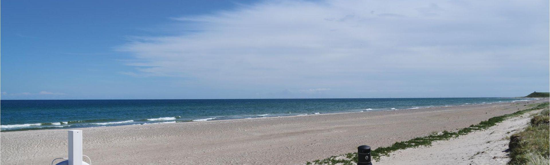 Nordstranden Beach, Grenaa, Midtjylland, Denmark