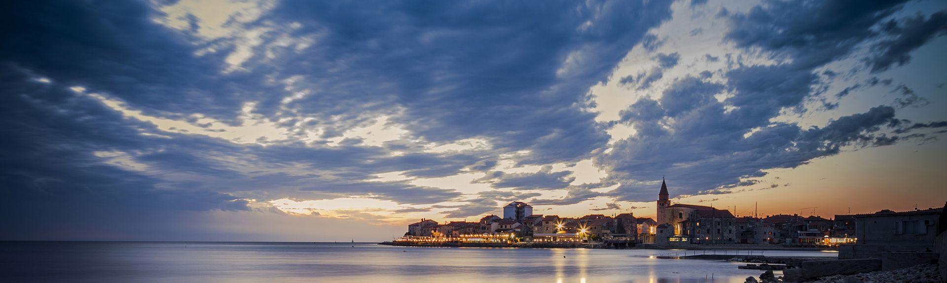 Umag, Istrië, Kroatië