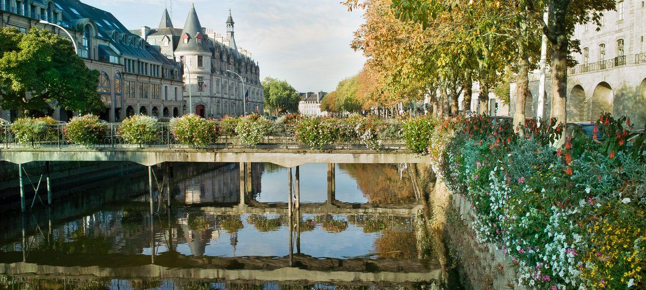 Quimper, Bretagne, Frankreich