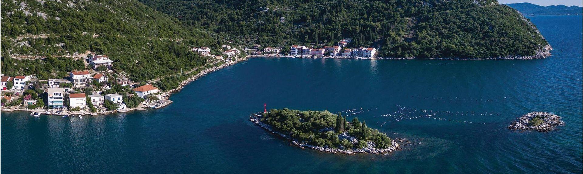 Komarna, Slivno, Comitat de Dubrovnik-Neretva, Croatie