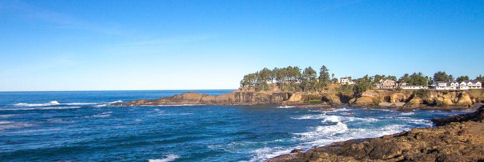 Agate Beach, Newport, Oregon, États-Unis d'Amérique