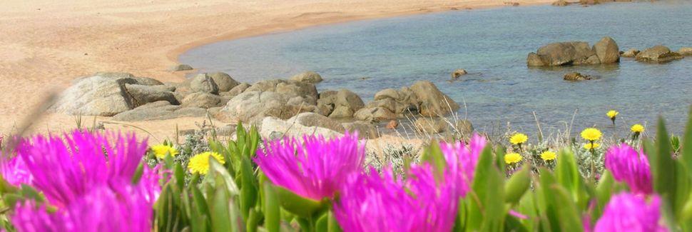 Isola Rossa Strand, Isola Rossa, Sardinien, Italien