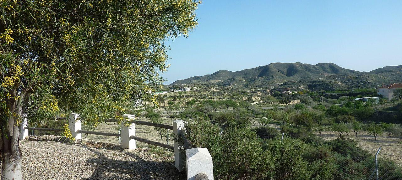 Valle del Almanzora, Andalusië, Spanje