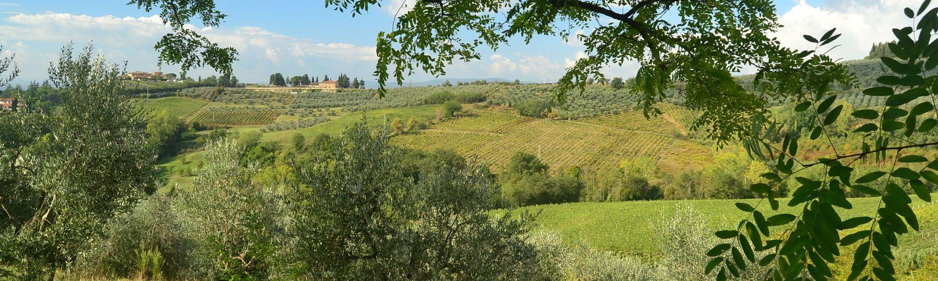 Gambassi Terme, Toscana, Italia