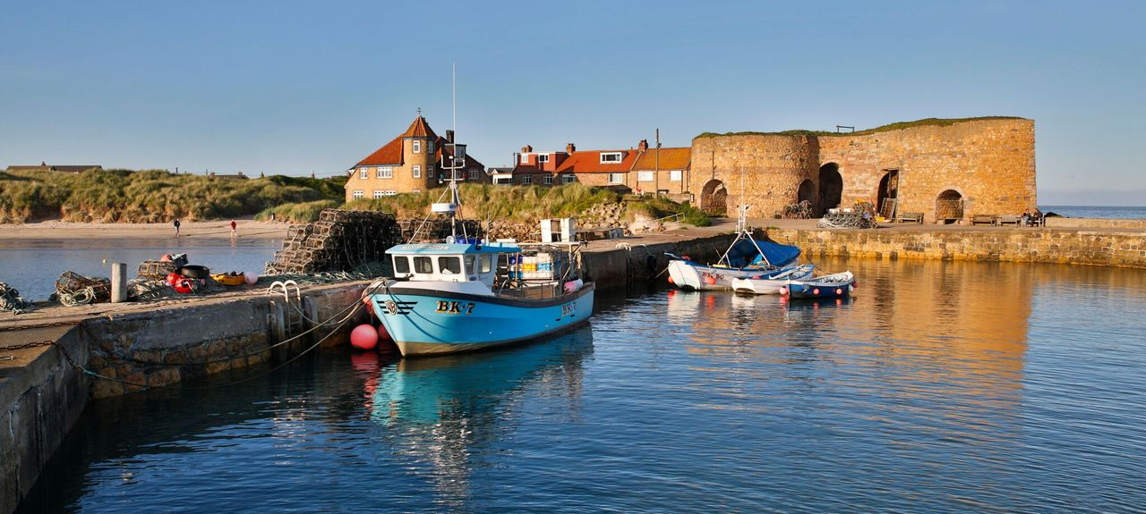 Beadnell, Chathill, Northumberland, UK
