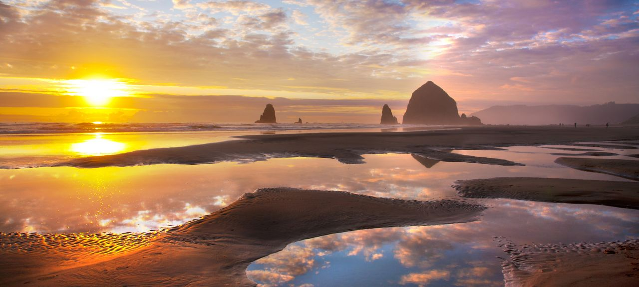 Cannon Beach, Cannon Beach, OR, USA
