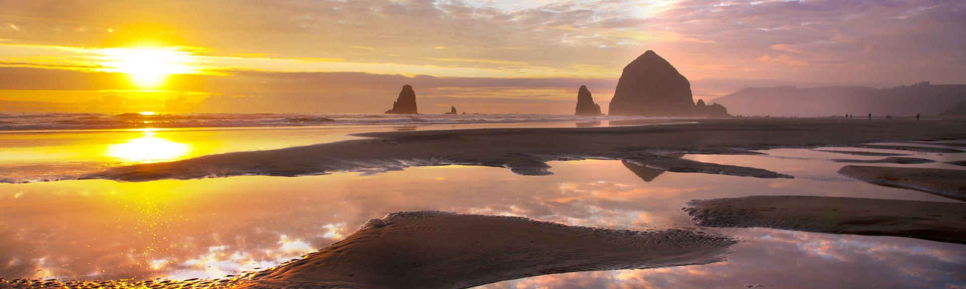 Cannon Beach, Cannon Beach, Oregon, Vereinigte Staaten