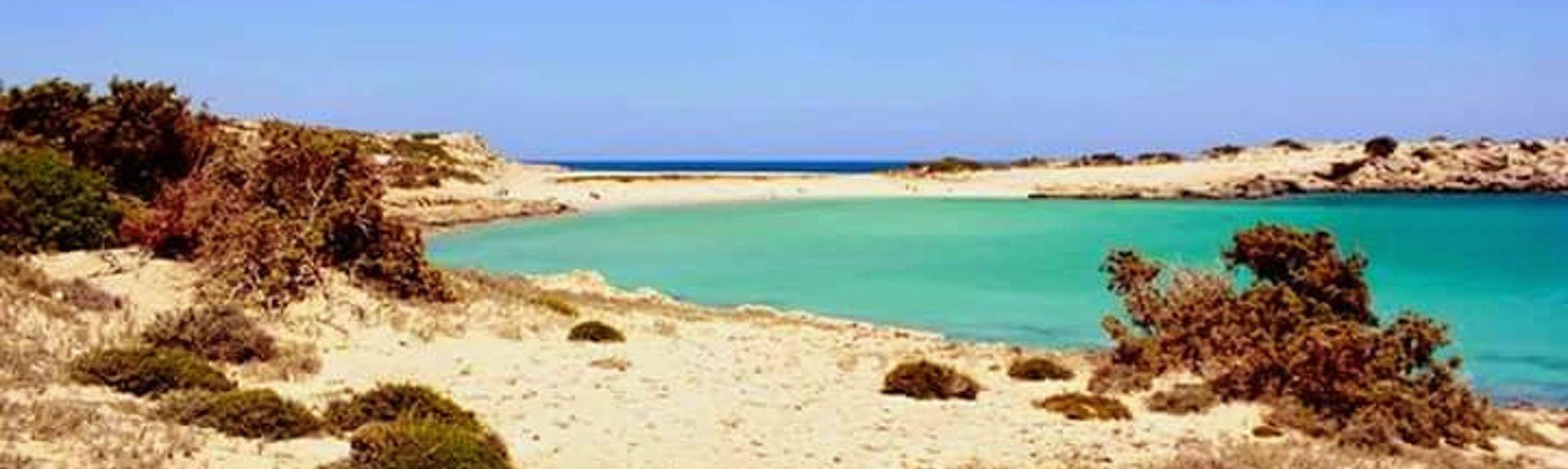 Diafani-stranden, Kárpathos, De egeiske øyer, Hellas