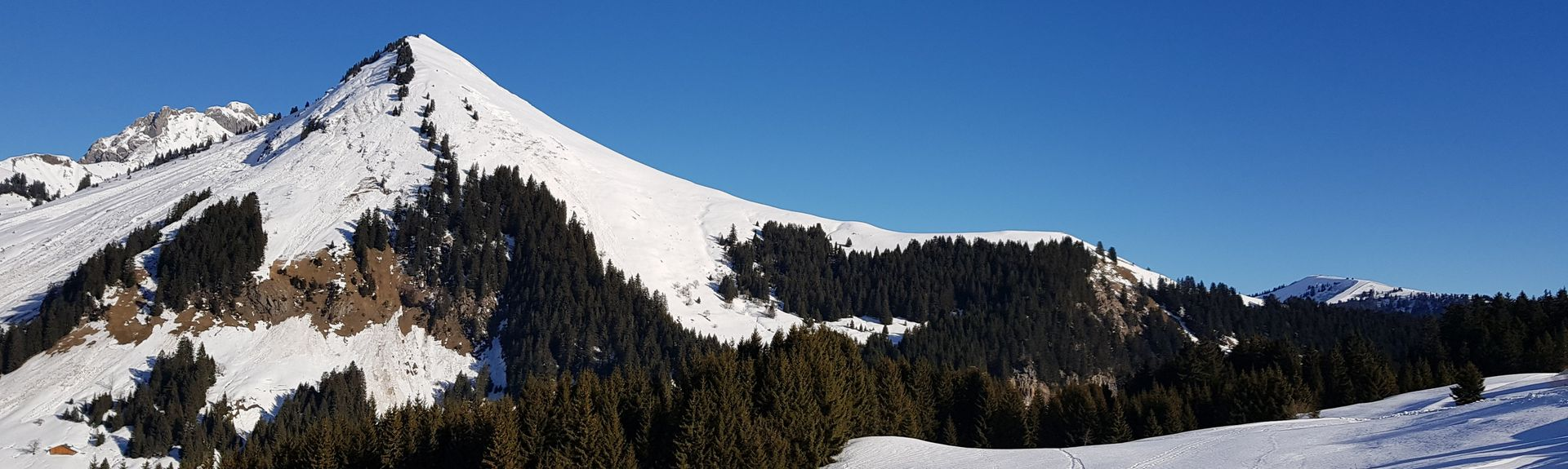 Bettex-Arbois Ski Lift, Saint-Gervais-les-Bains, Haute-Savoie (department), France