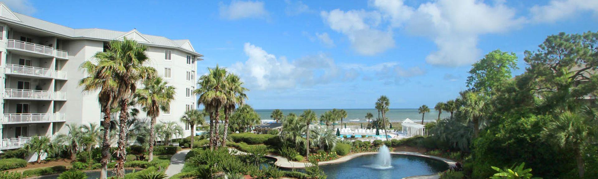 Sea Crest Villas. Hilton Head Island, SC, USA