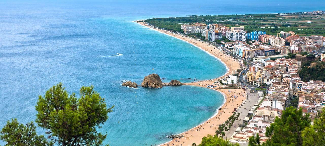Blanes, Catalonië, Spanje
