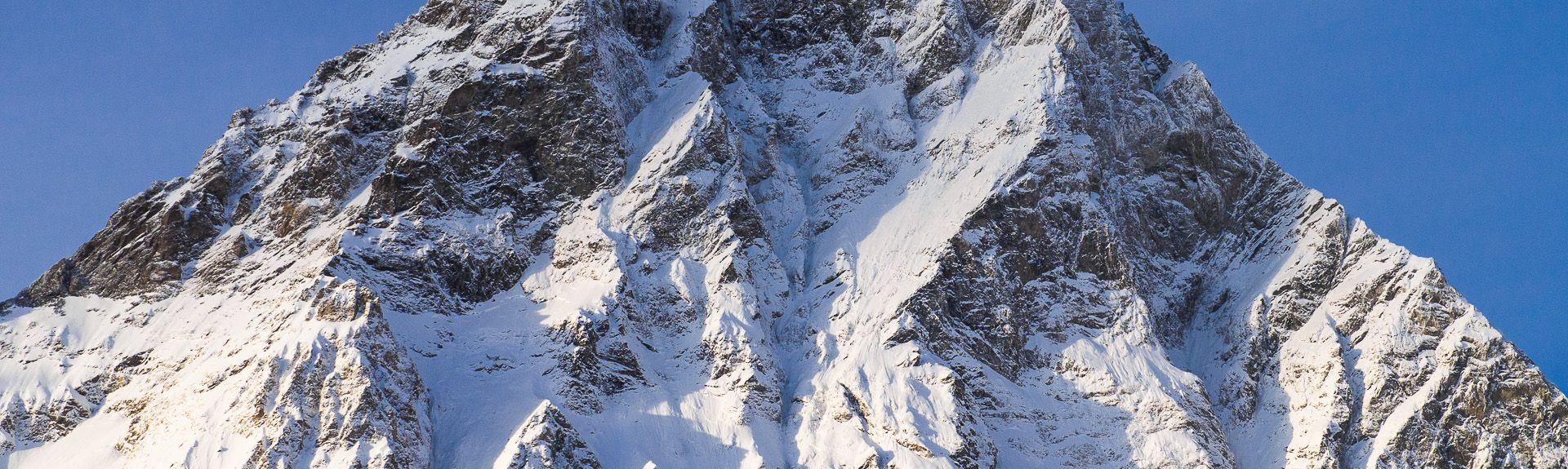 Gondel van Breuil-Cervinia, Cervinia, Valle d'Aosta, Italië