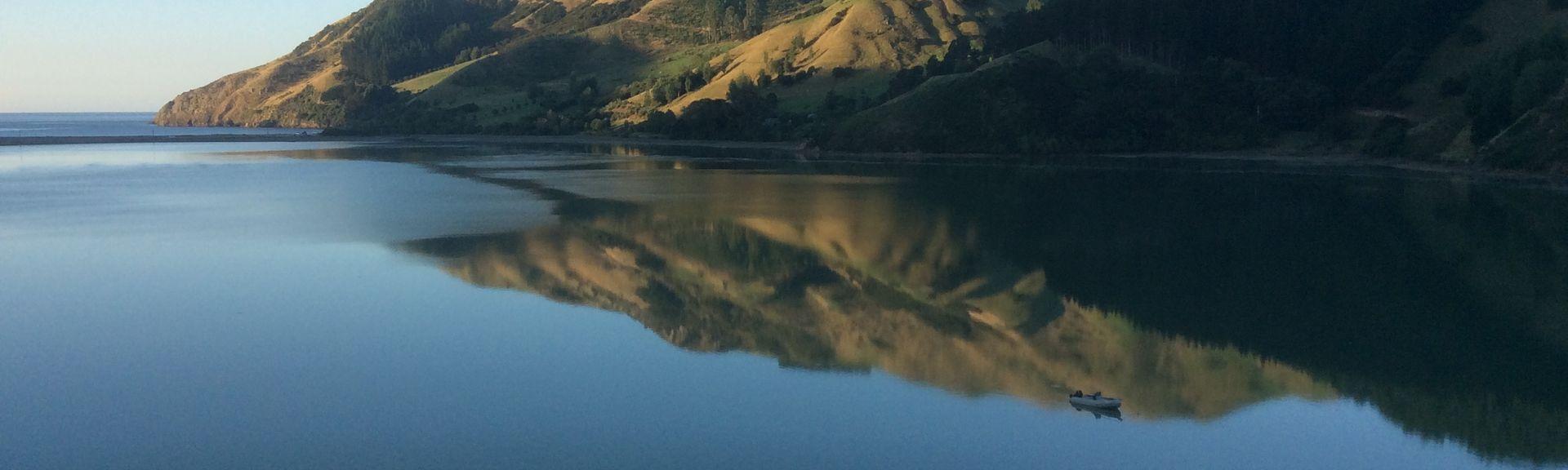 Okiwi Bay, Marlborough, Nouvelle-Zélande