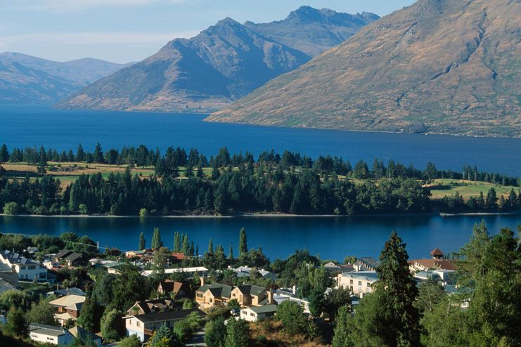 District de Queenstown Lakes, Nouvelle-Zélande