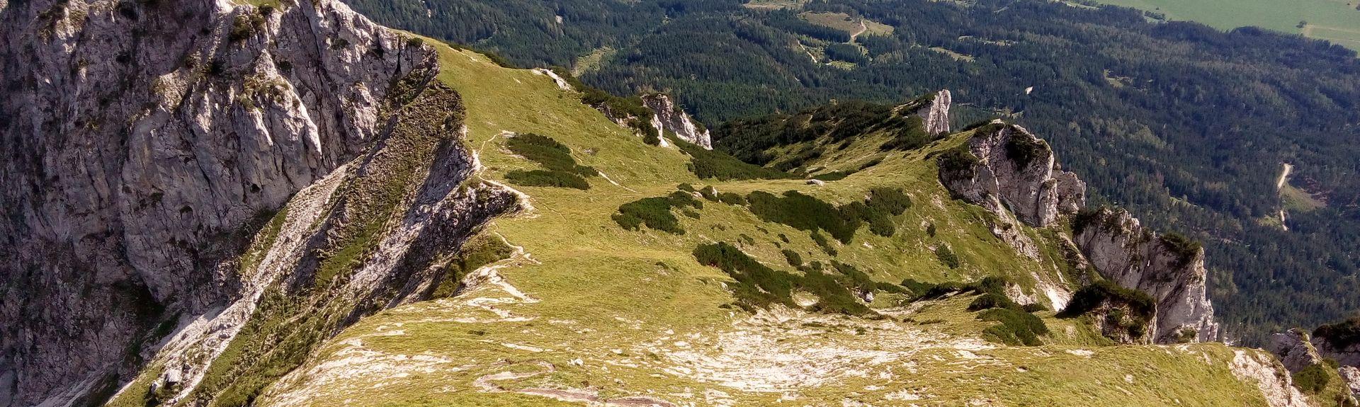 Hoefi-Express I Ski Lift, Haus, Steiermark, Styria, Austria