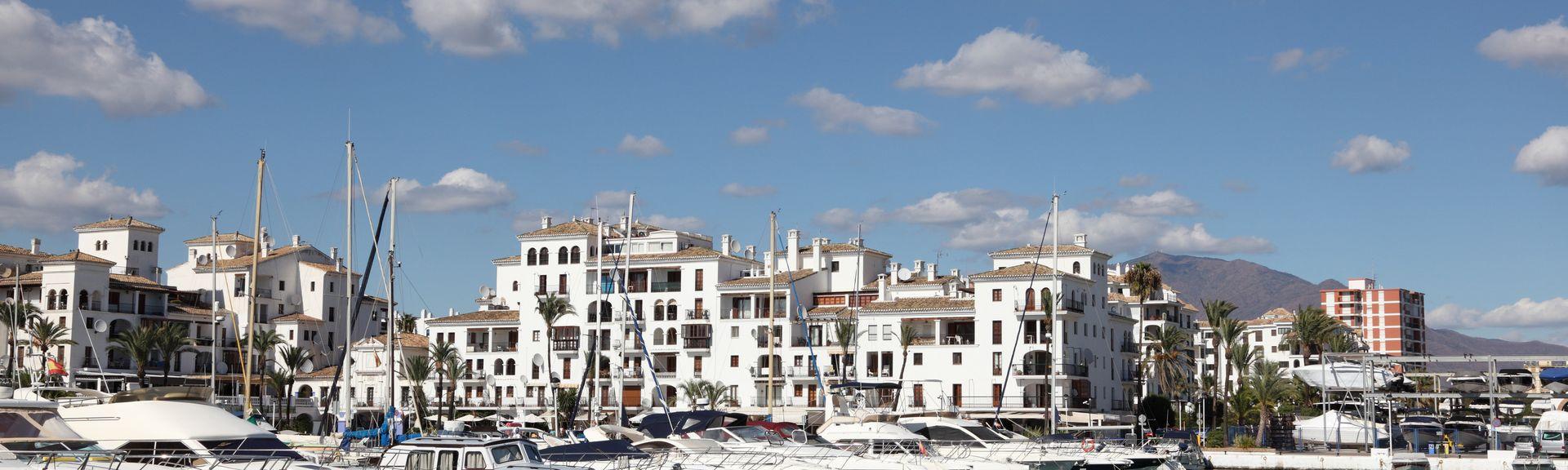 Puerto de la Duquesa, Manilva, Andalusië, Spanje