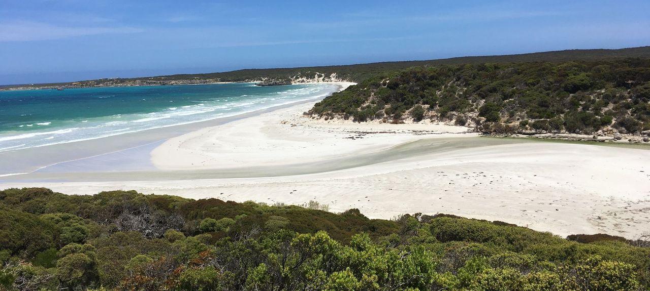 Plage de Vivonne Bay, Vivonne Bay (baie), Australie-Méridionale, Australie