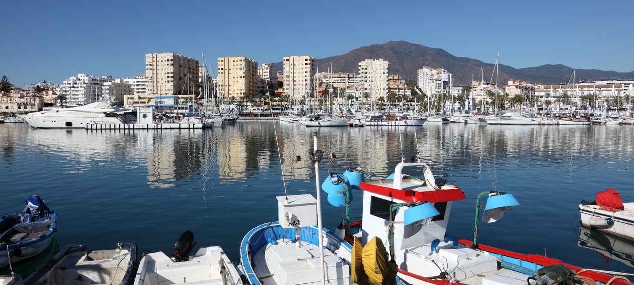 Estepona, Andalusien, Spanien