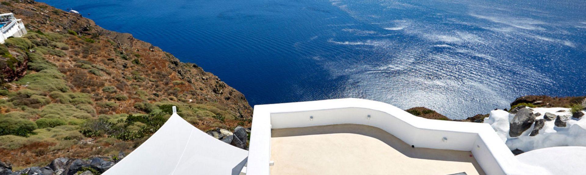 Petros M. Nomikos Conferencecenter, Fira, De Ægæiske Øer, Grækenland