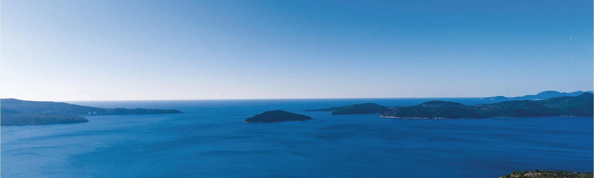 Zaton, Dubrovnik-Neretvas län, Kroatien