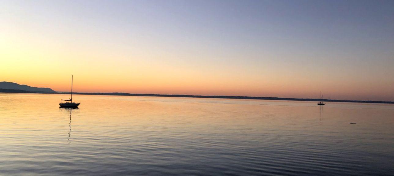 Lake Whatcom, Sudden Valley, Washington, États-Unis d'Amérique