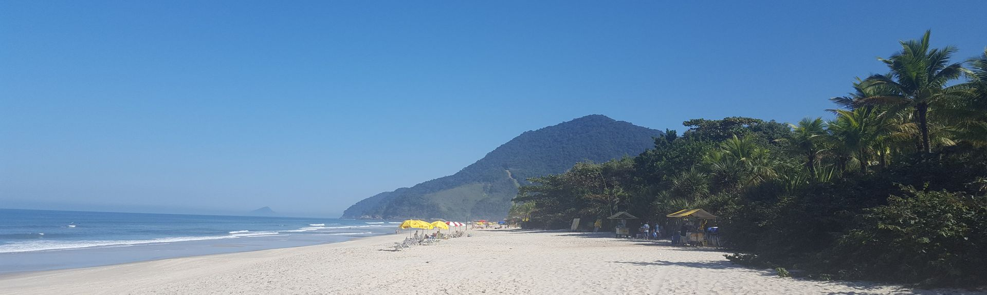 Praia do Jabaquara, Ilhabela, Regio zuidoost, Brazilië