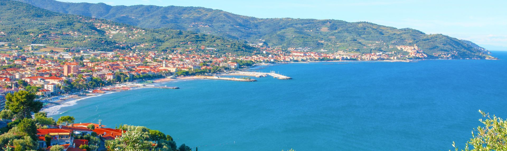San Bartolomeo al Mare, Ligurie, Italie