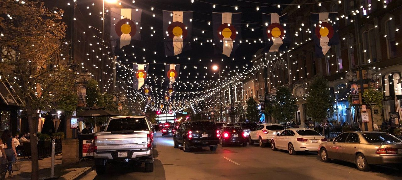 Larimer Square, Denver, Colorado, Vereinigte Staaten