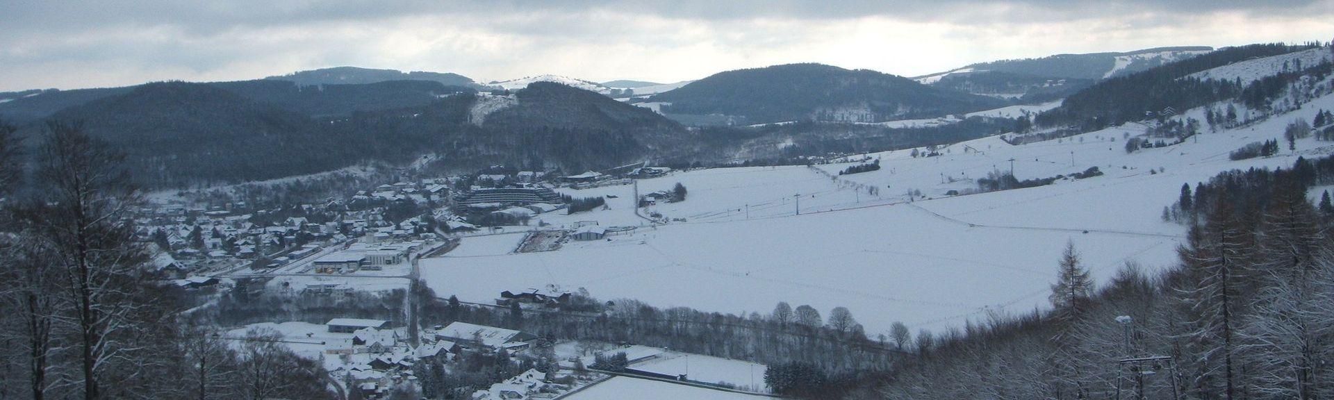 Schwalefeld, Willingen (Upland), Hessen, Duitsland