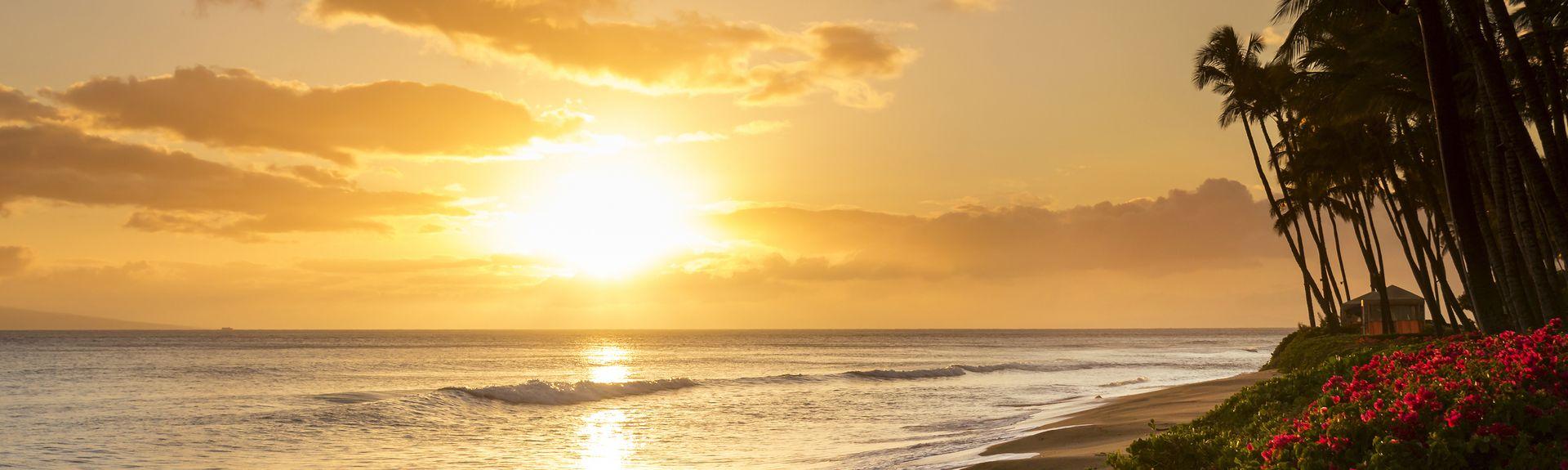 Waikiki Sunset, Waikiki, HI, USA